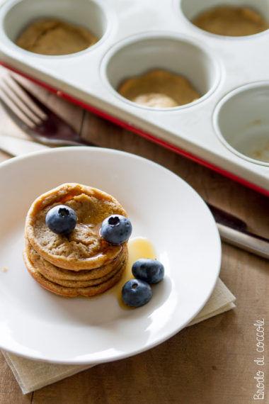 Mini pancake al forno (con la teglia dei muffin)