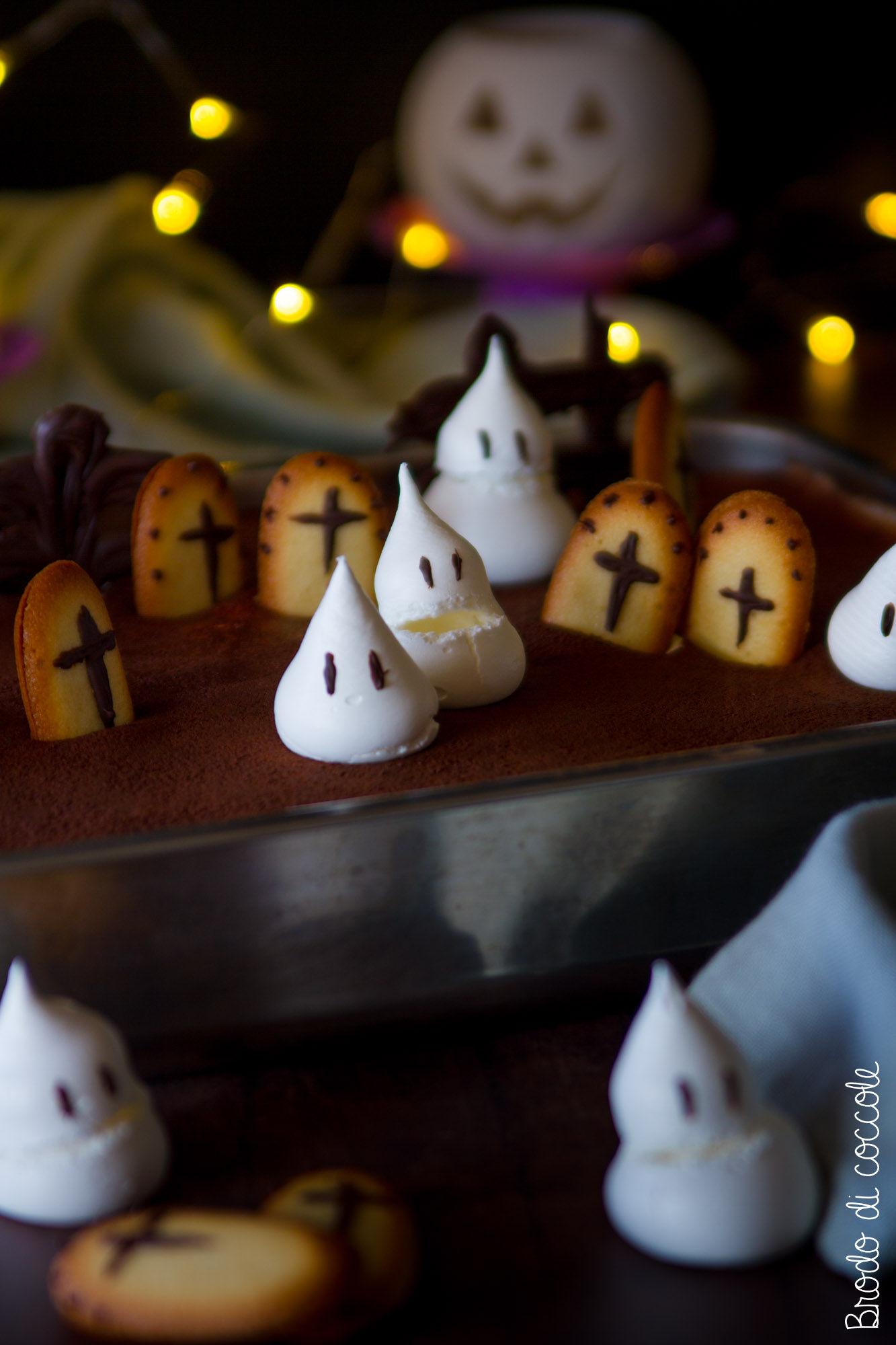 Cimiteramisù, il tiramisù di Halloween