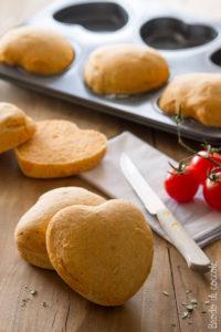 Panini al pomodoro e basilico