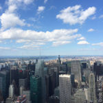 New York vista dall'Empire State Building