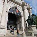 New York - Ingresso del Museo di Storia Naturale (esterno)