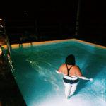 Bagno in piscina da Ada Nada
