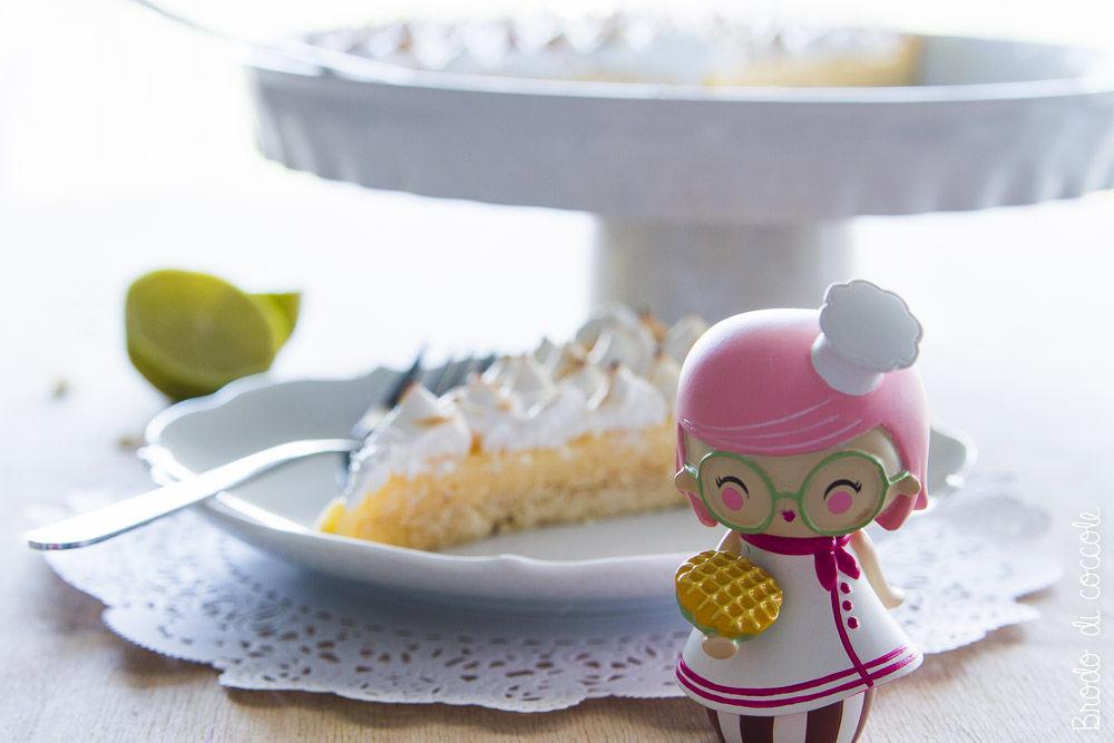 Crostata meringata al lime