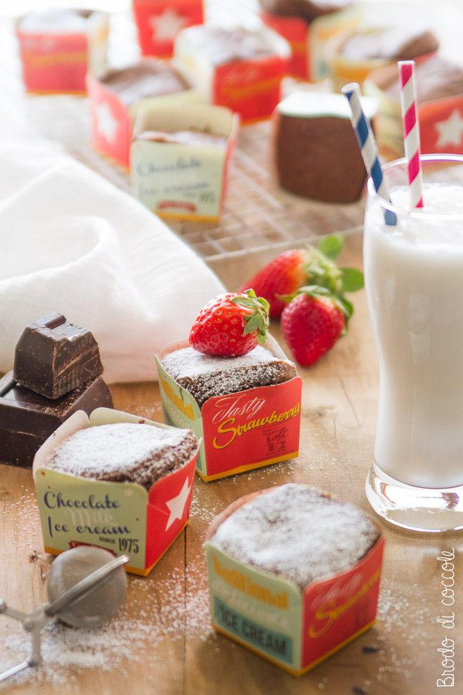 Tortini al cioccolato di Laurel Evans