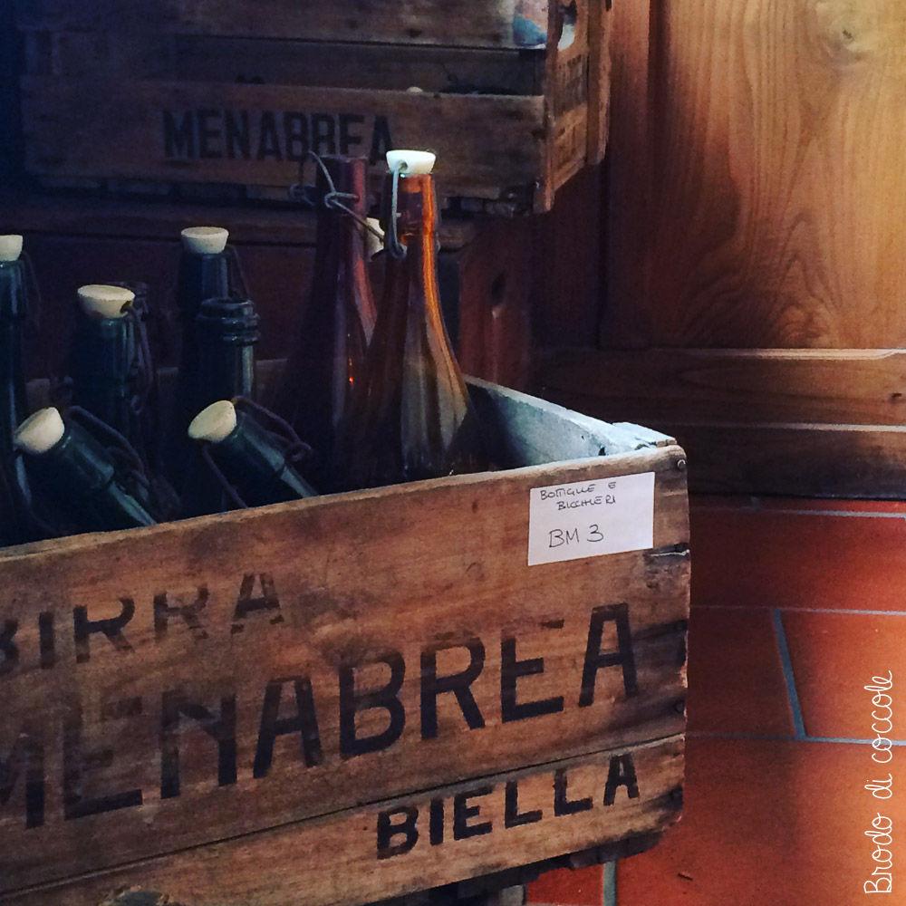 Menabrea - Bottiglie antiche