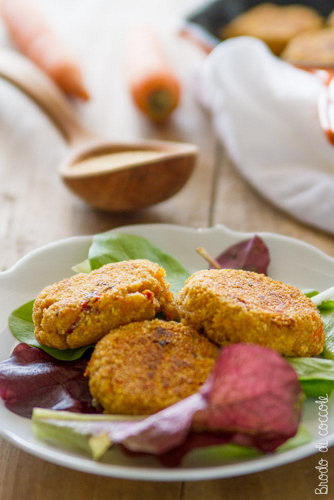 Polpette di amaranto e carote