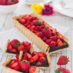 Crostata con Nutella e fragole