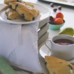 Scones ai mirtilli e limone