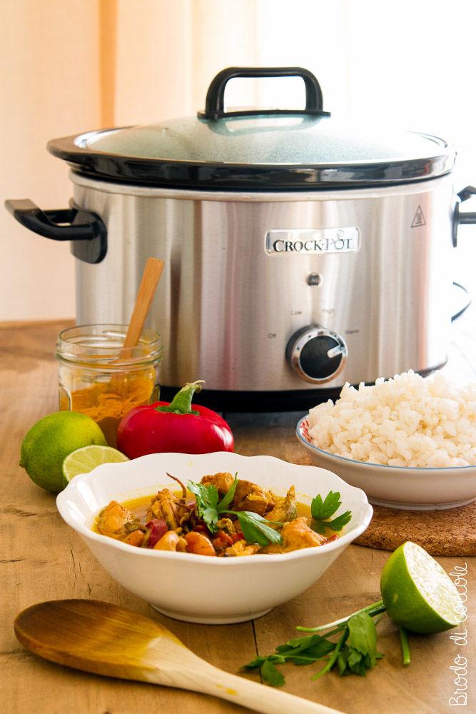 Curry di pesce al cocco