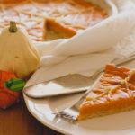 Pumpkin pie per Halloween