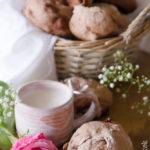 Pane al cacao con uvetta, noci e cioccolato