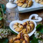Cuori di sfoglia e Nutella