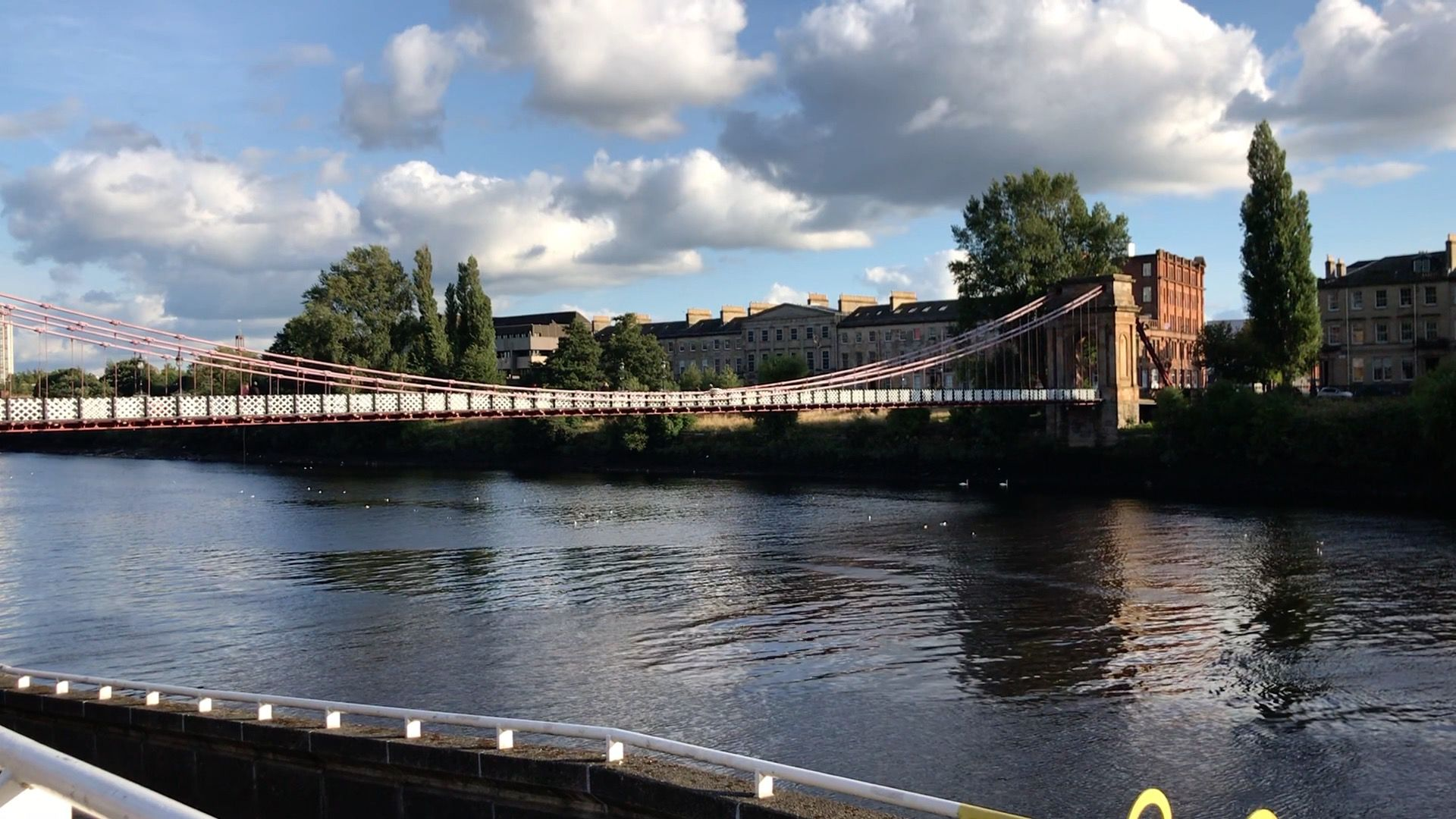 Glasgow - Panorama sul fiume Clyde