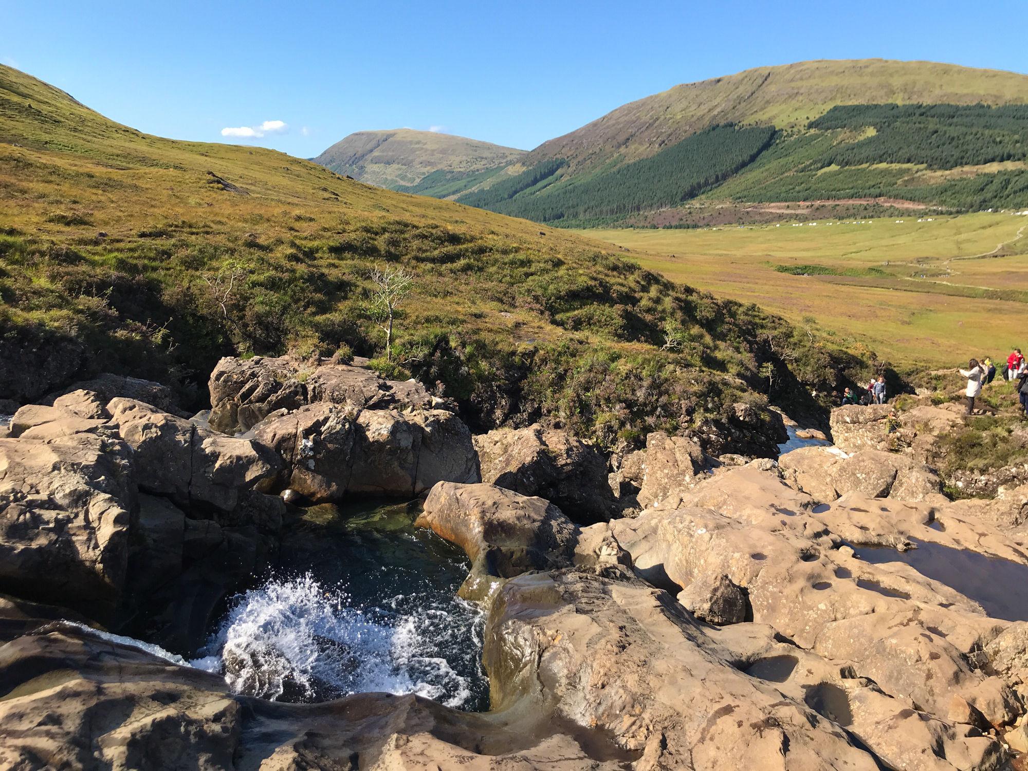 Isola di Skye - Fairy Pools
