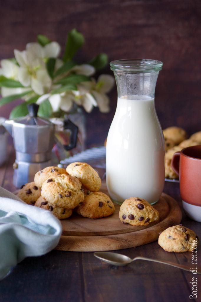 Biscotti morbidi allo yogurt