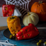 Peperoni spaventosi ripieni per Halloween