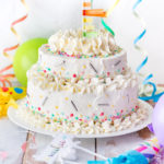 Funfetti cake (o sprinkle cake)