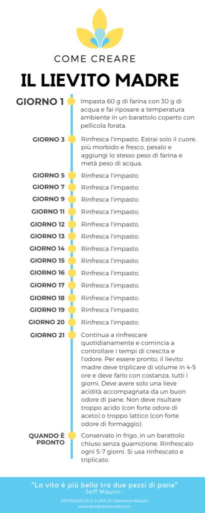 Infografica Lievito Madre