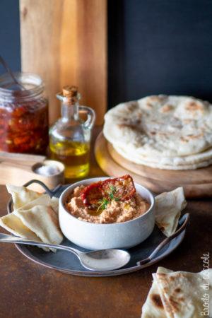 Hummus ai pomodori secchi
