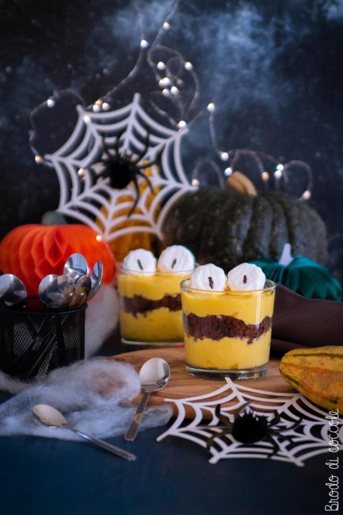 Mostro di crema per Halloween