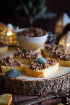 Patè di fegatini all'aceto balsamico