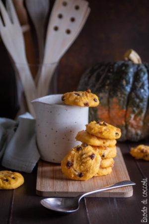 Cookies di zucca al cocco