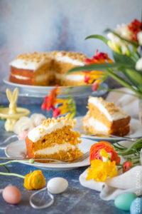 Carrot Cake, la torta di carote all'inglese