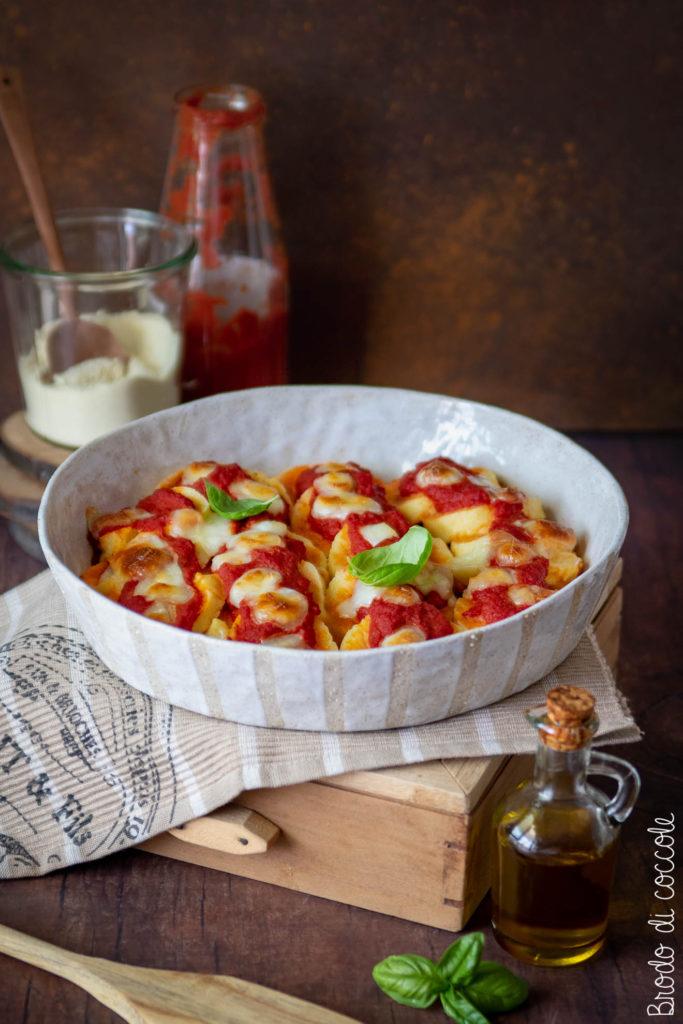 Gnocchi di semolino al pomodoro