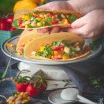 Tacos con fagioli